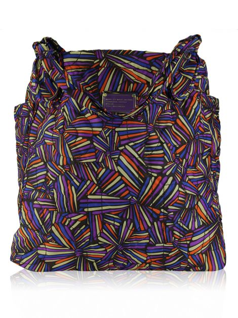 Bolsa Marc By Marc Jacobs Pretty Tate Nylon Estampada