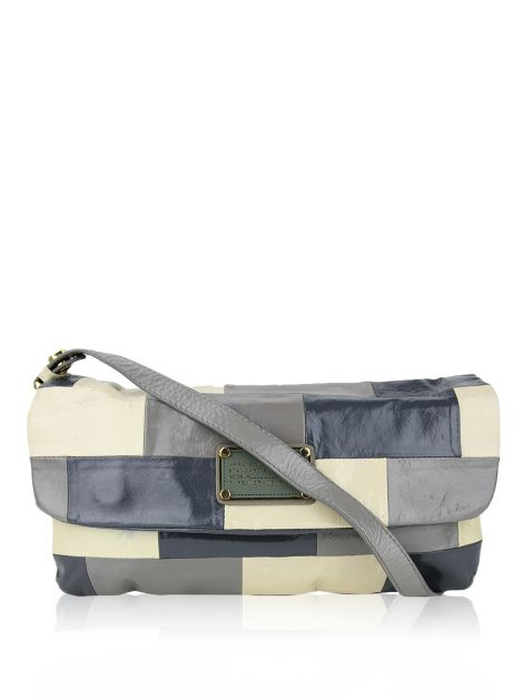 Bolsa Marc By Marc Jacobs Verniz Multicolorida