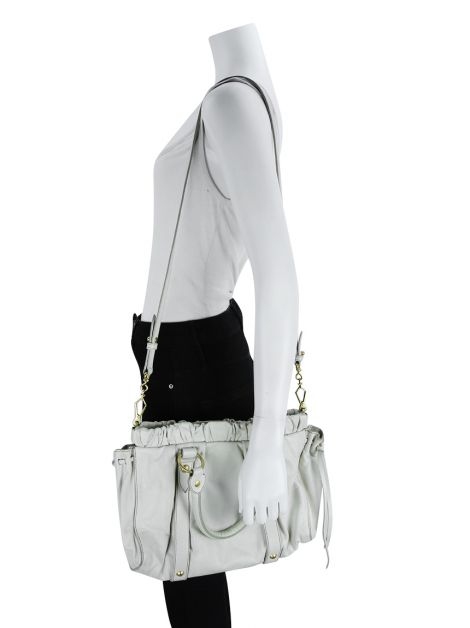 Bolsa Miu Miu Two Way Off White
