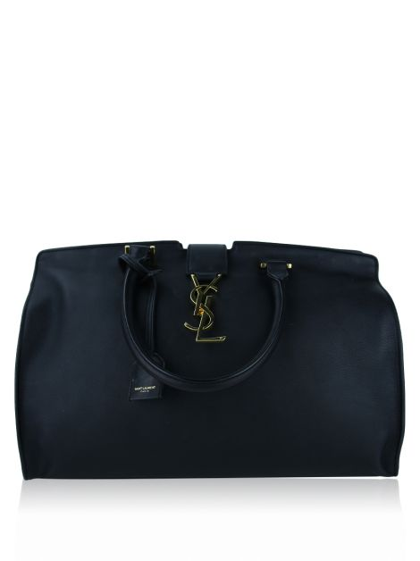 Bolsa Saint Laurent Medium Cabas Monogram Fog