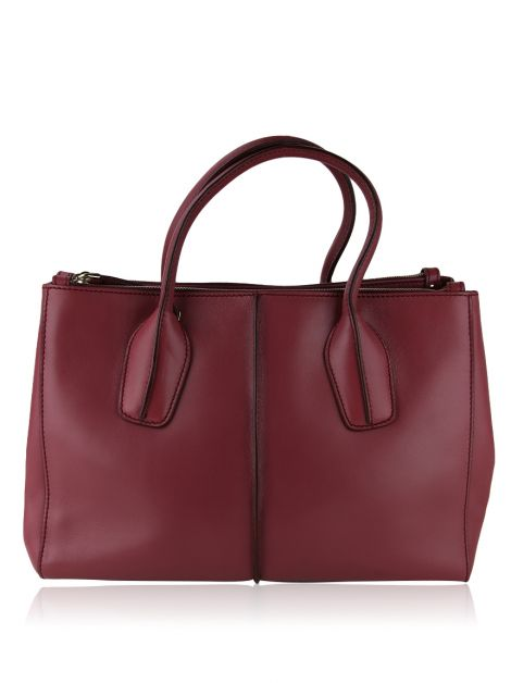 Bolsa Tod's D-Styling Shopping Due Zip Malva