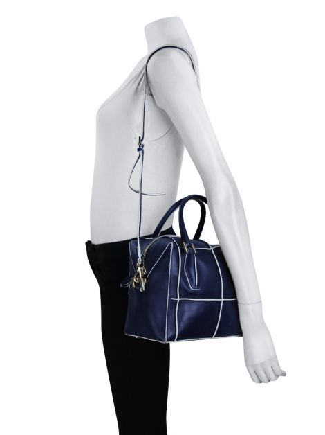 Bolsa Tod's D-styling Couro Azul