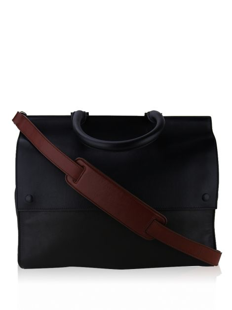 Bolsa Victoria Beckham Top Handle Bicolor