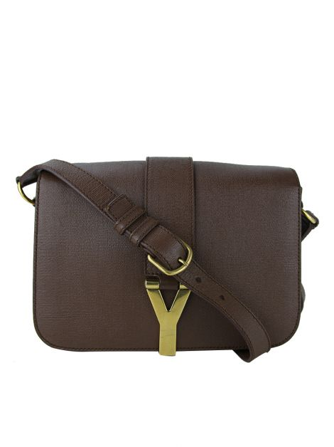 Bolsa Yves Saint Laurent ChYc Crossbody Marrom