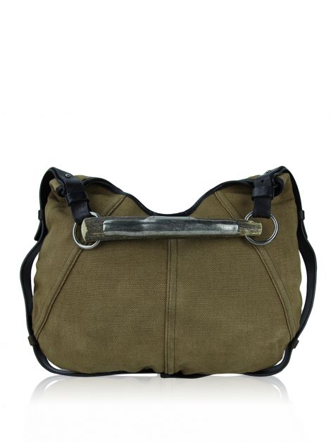 Bolsa Yves Saint Laurent Mombasa Canvas Marrom