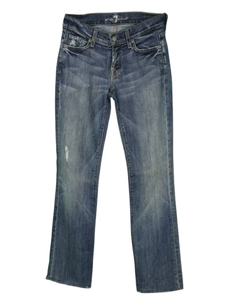 Calça Seven For All Mankind Bootcut Azul
