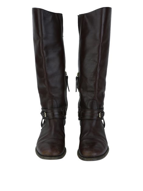 Bota Burberry Bridle Riding Marrom