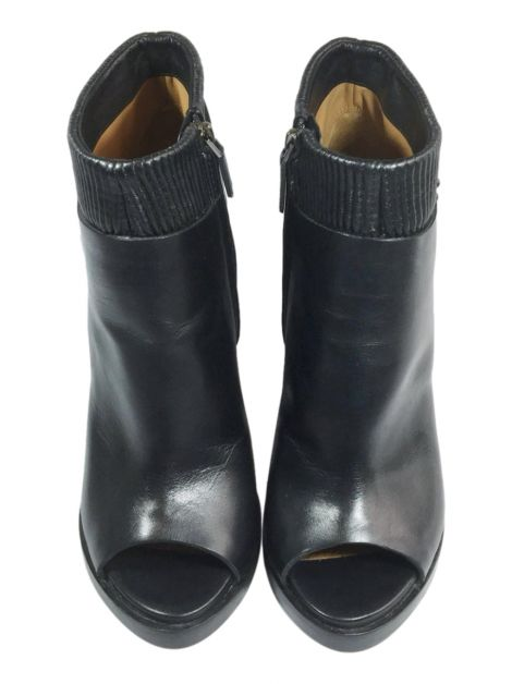 Ankle Boots Givenchy Couro Preto