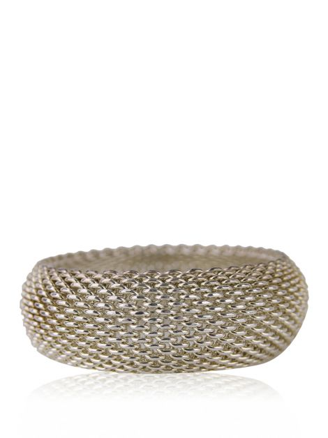 Bracelete Tiffany & Co. Somerset Mesh Prata