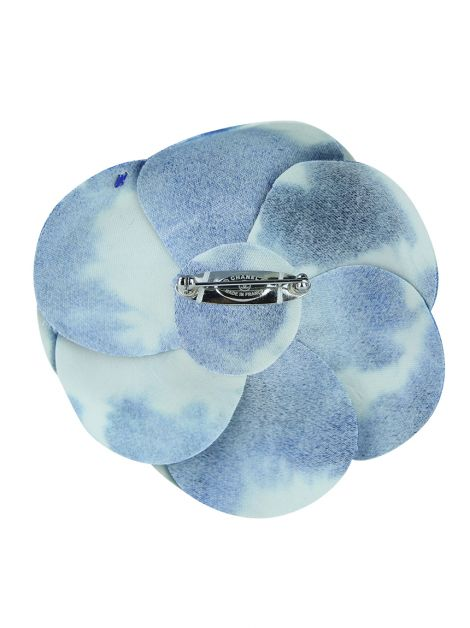 Broche Chanel Cammelia Bicolor
