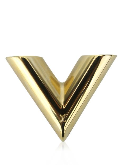 Broche Louis Vuitton Essentil Dourado