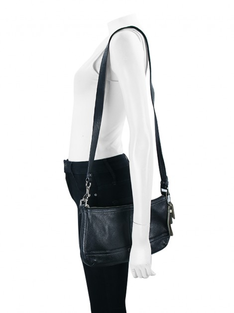 Bolsa Coach Convertible Crossbody Preto