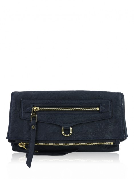 Clutch Louis Vuitton Petillante Empreinte Azul