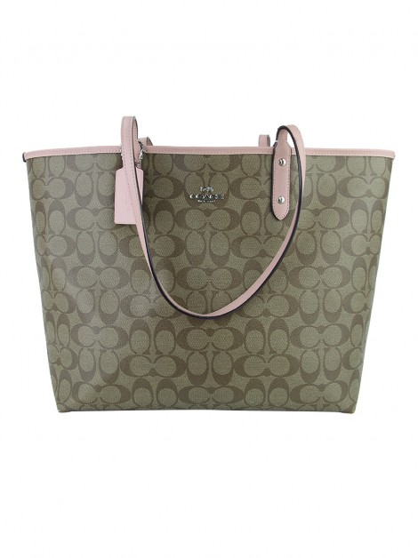 Bolsa Coach Coach City Signature Reversible Monograma