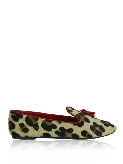 Loafer CH Carolina Herrera Tassel Animal Print