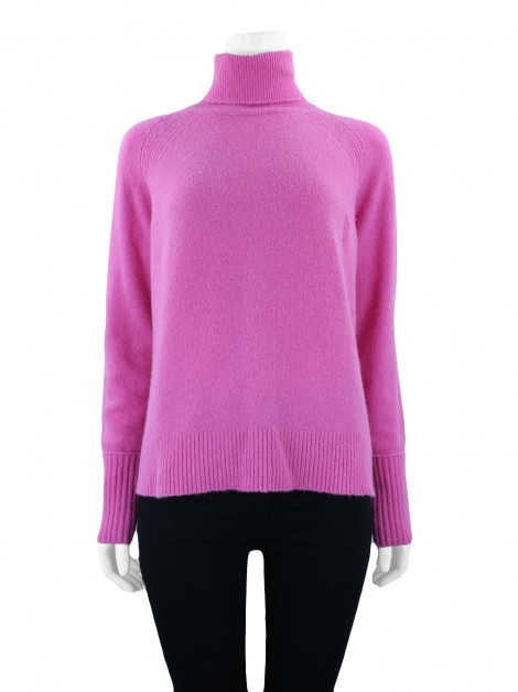 Casaco J.Crew Supersoft Rosa