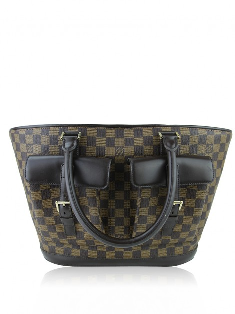 Bolsa Louis Vuitton Manosque GM Damier Ebene