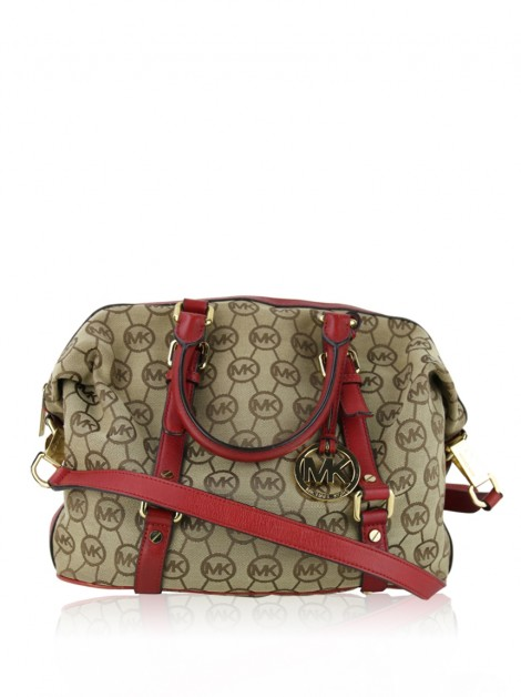 Bolsa Michael Kors Bedford Medium Monogram