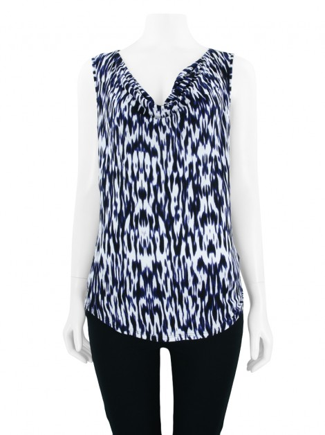 Blusa Armani Exchange Regata Estampada