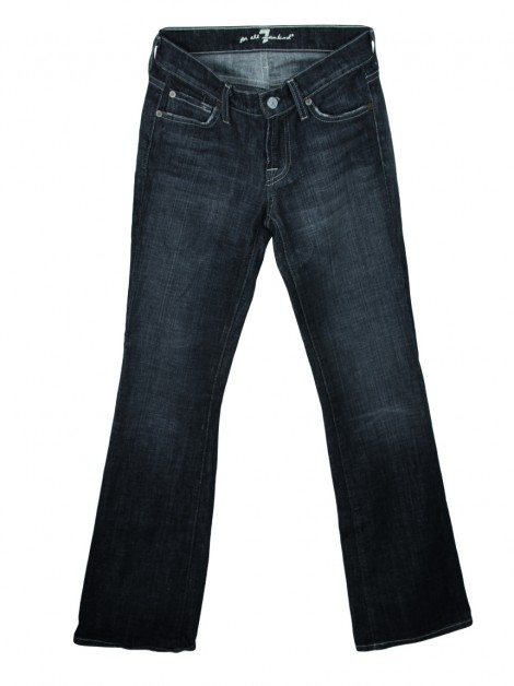 Calça Seven For All Mankind Bootcut Jeans Cinza