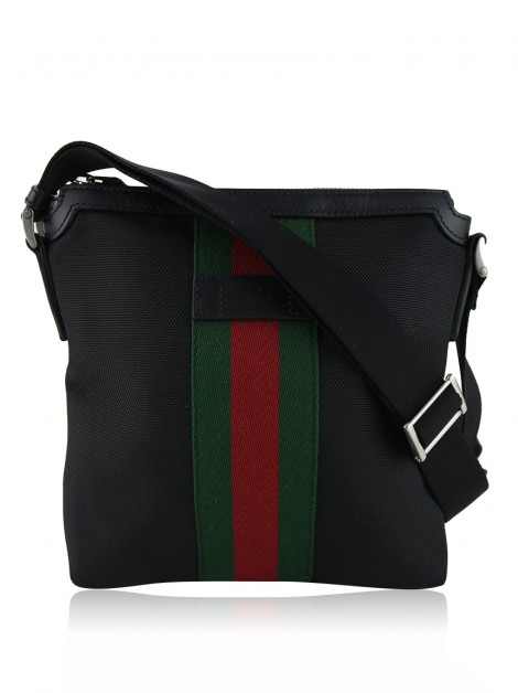 Bolsa Gucci Techno Canvas Web