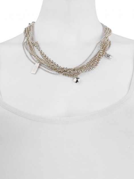 Colar Moschino Cheap and Chic Choker Dourado