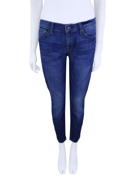 Calça Seven For All Mankind Gwenevere Cropped