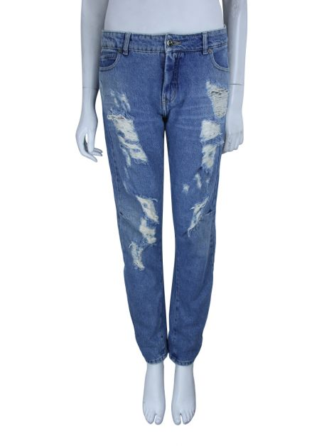 Calça Animale Jeans Destroyed Azul