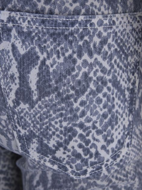 Calça Current Elliott Denim Animal Print