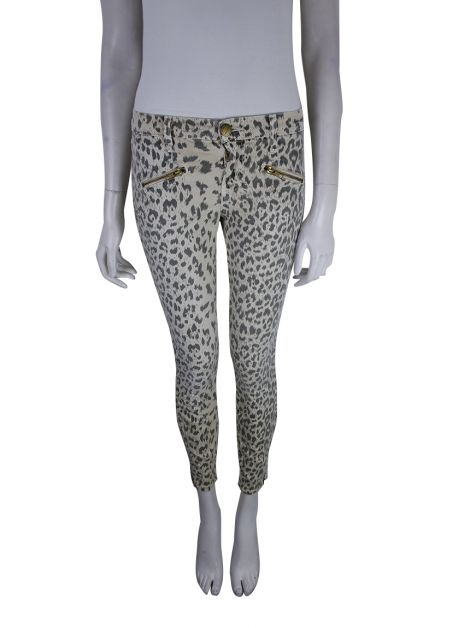 Calça Current Elliott Jeans Leopardo