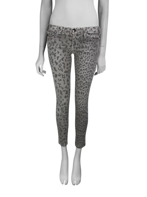 Calça Current Elliott The Stletto Animal Print