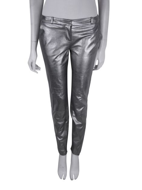 Calça Diane Von Furstenberg Everly Metallic