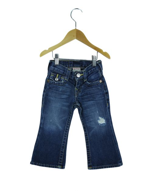 Calça True Religion Jeans Destroyed Toddler