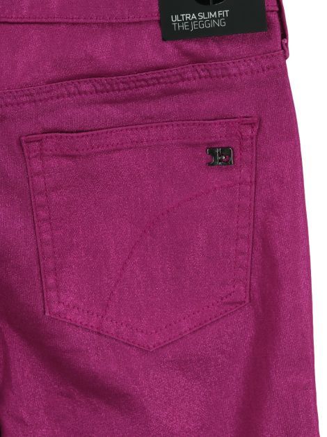 Calça Joe's The Jegging Metalizada Rosa Infantil