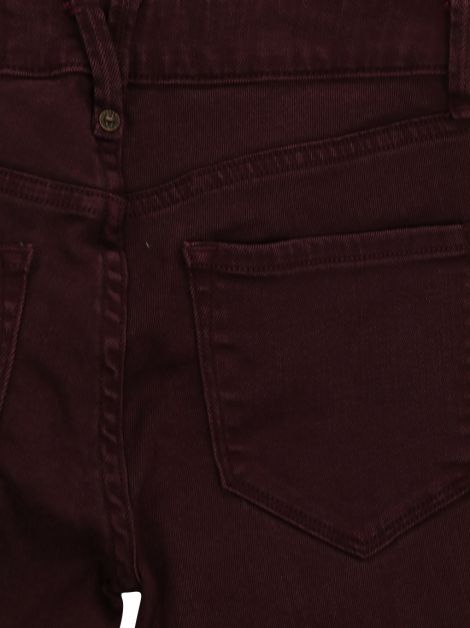Calça Marc by Marc Jacobs Jeans Burgundy