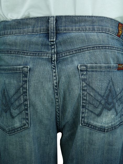 Calça Seven For All Makind A PKT Relaxed Jeans Masculina