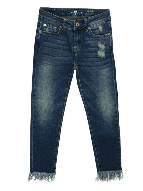 Calça Seven For All Mankind Skinny Infantil