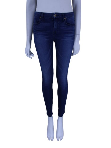 Calça Seven For All Mankind The Mid Rise Ankle Skinny