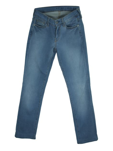 Calça Seven For All Mankind Denim Azul Claro