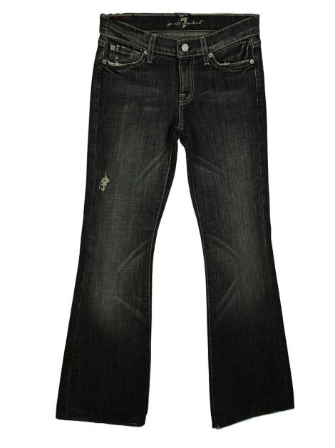Calça Seven For All Mankind Flare Destroyed