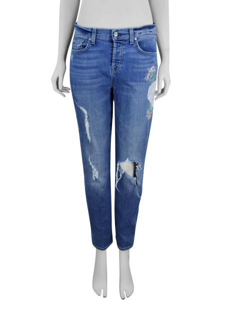 Calça Seven For All Mankind Flores Jeans