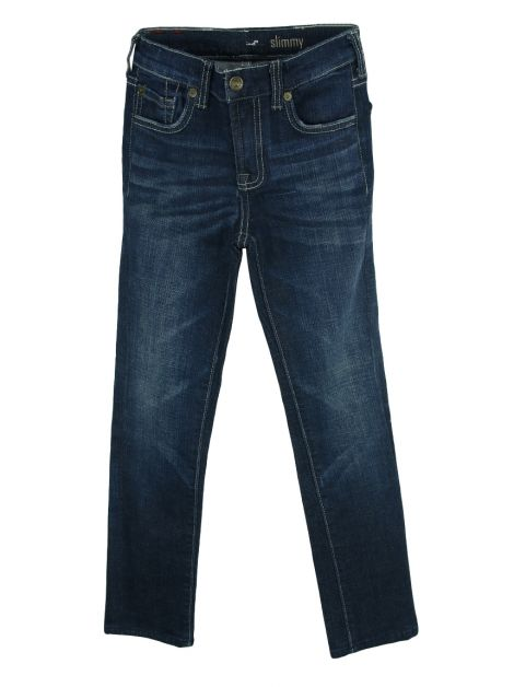 Calça Seven For All Mankind Jeans Azul Infantil