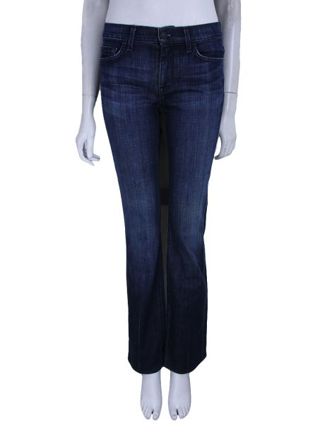 Calça Seven For All Mankind  Jeans Azul