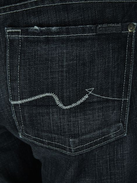 Calça Seven For All Mankind Jeans Chumbo
