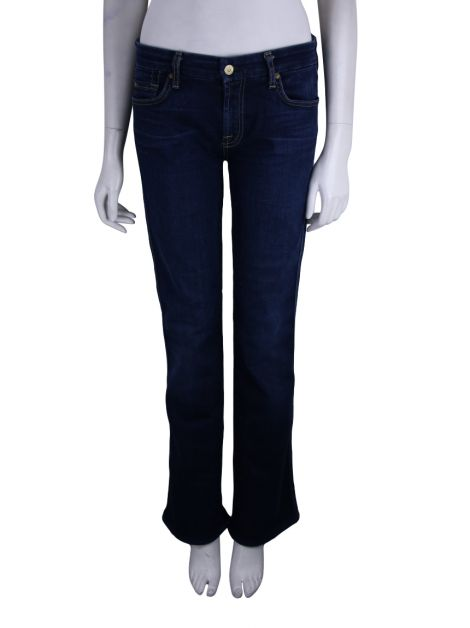 Calça Seven For All Mankind Kimmie Bootcut Azul