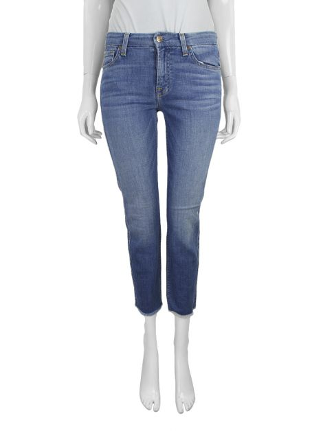 Calça Seven For All Mankind Kimmie Crop Jeans