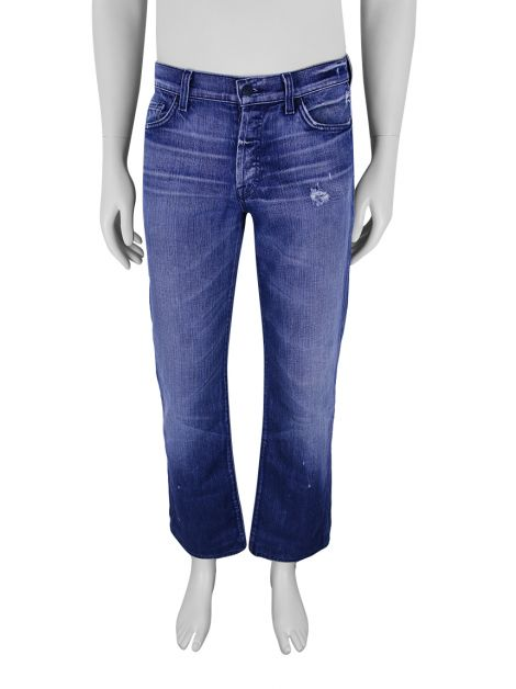 Calça Seven For All Mankind Standard Jeans Azul