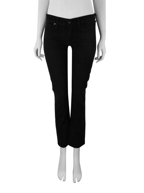 Calça Seven For All Mankind Straight Leg Preto