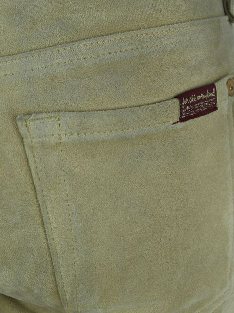 Calça Seven for All Mankind Suede Bege