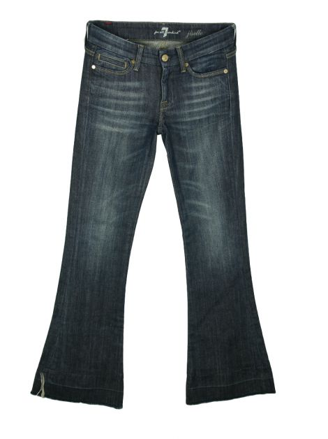 Calça Seven For All Mankind Jiselle Jeans Azul